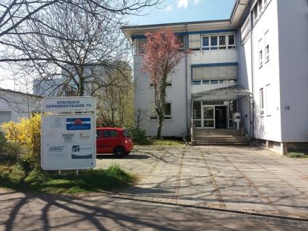 Praxis Dr. Kaltenbrunner Eingangsbereich