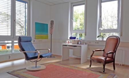 Kaltenbrunner Psychotherapie Freiburg Praxisraum